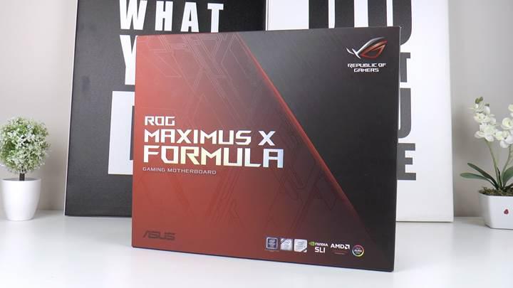 Asus ROG Maximus X Formula Z370 incelemesi 'Sıvı soğutmalı, meraklısına anakart'