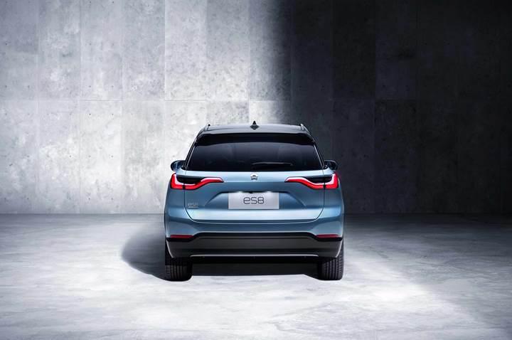 Çinli Tesla'dan Model X'e yarı fiyatlı rakip geldi: NIO ES8