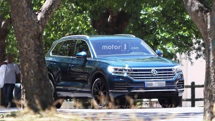 2019 Volkswagen Touareg kamuflajsız olarak görüntülendi