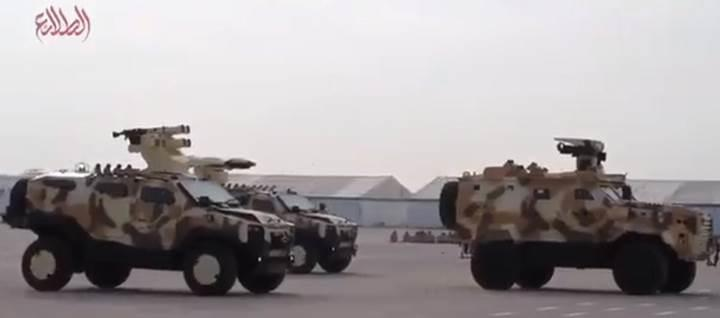 Katar'ın tören geçişinde Türk yapımı zırhlı araçlar görüntülendi