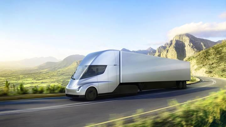 Kargo devi UPS'ten 125 adet Tesla Semi siparişi geldi