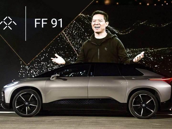 Tesla'nın rakibine hayat öpücüğü: Faraday Future, 1 milyar dolar finansman buldu