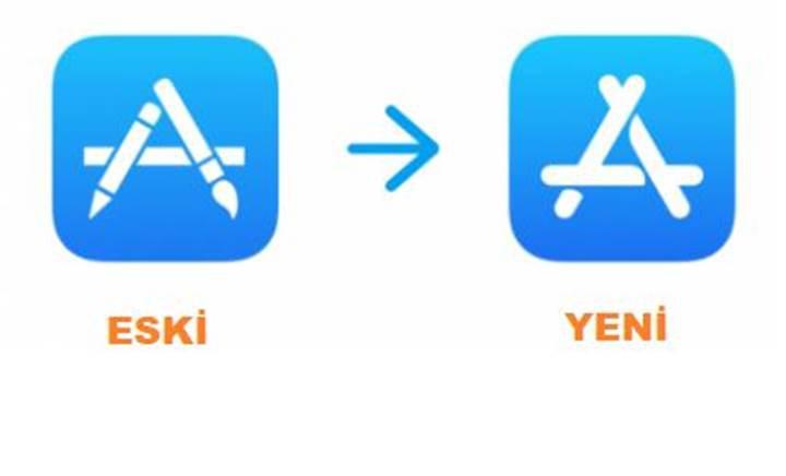 App Store logosu çalıntı çıktı