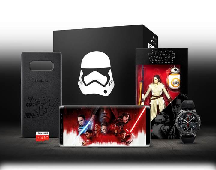 Samsung Galaxy Note 8 Star Wars paketi meraklılarını bekliyor