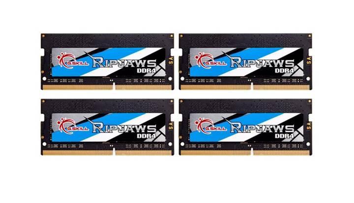 G.Skill en hızlı 32GB DDR4 SO-DIMM belleğini duyurdu
