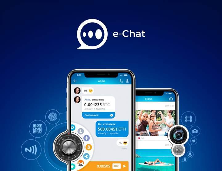 Blockchain tabanlı mesajlaşma uygulaması e-Chat'in ICO'sunda ikinci tur başladı