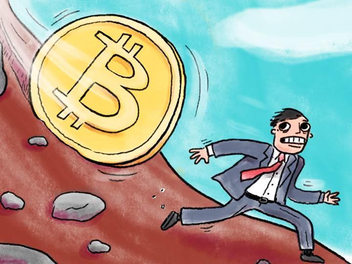 Bitcoin ve diğer kripto paralar tepetaklak