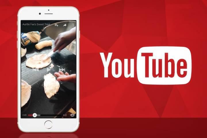 YouTube'un iOS uygulaması artık dikey videoları tam boy oynatacak
