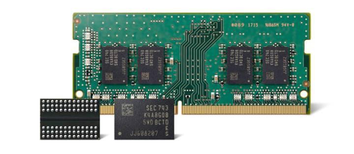 Samsung 2. nesil 10 nm DRAM yongalarının üretimine başladı