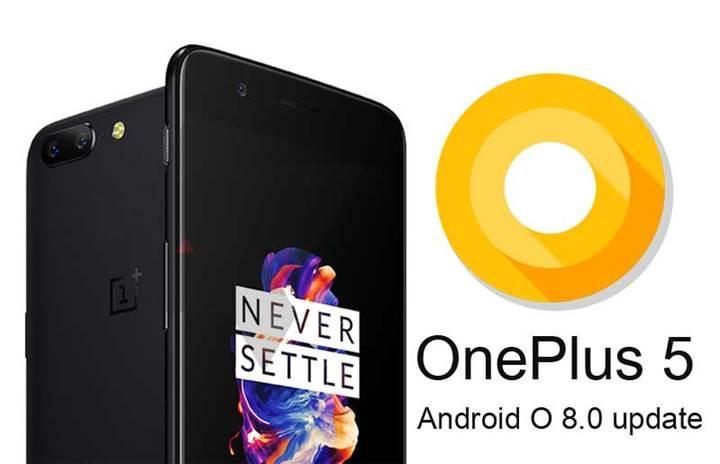 OnePlus 5 için Android 8.0 sürümü ve OxygenOS 5.0 arayüz güncellemeleri yayınlandı