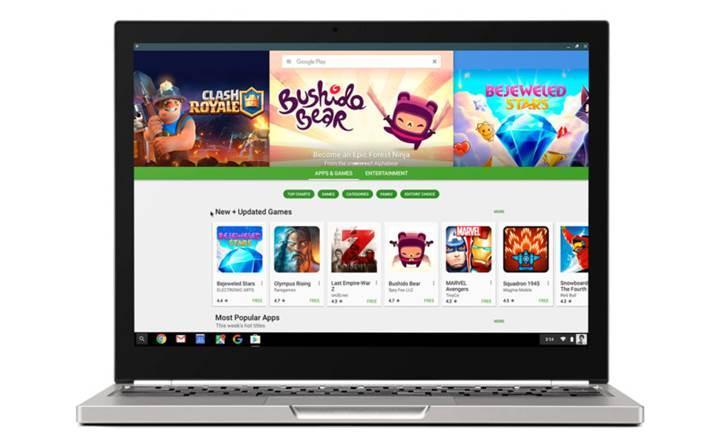 Chrome OS yakında Android uygulamalarını arka planda çalıştırabilecek