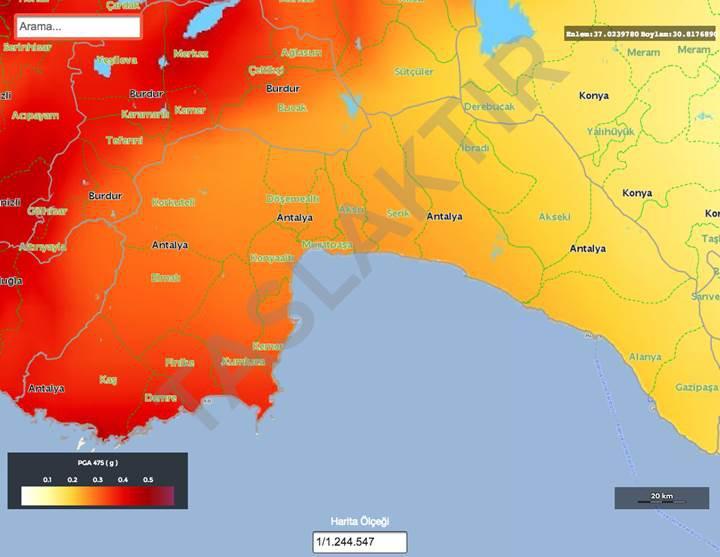 Türkiye'nin deprem haritası güncellendi: Mahalle mahalle risk dağılımını görün!