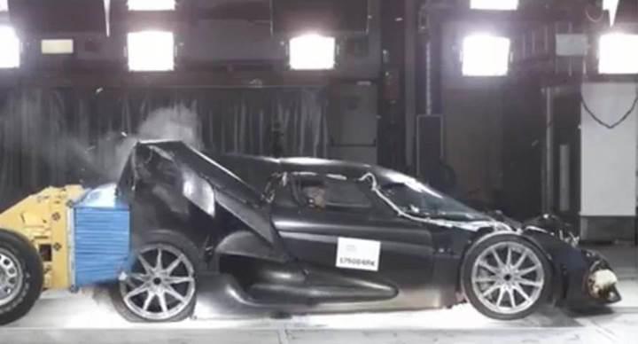 Koenigsegg Regera'nın çarpışma ve işkence testleri yayınlandı [video]