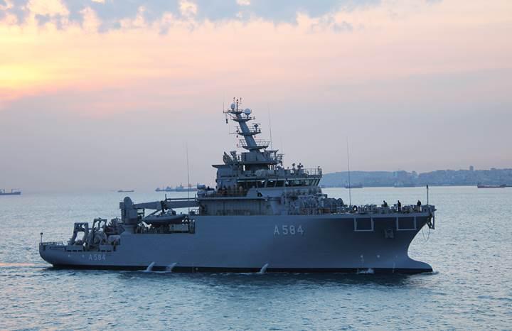 İkinci KURYED Deniz Kuvvetlerine teslim edildi