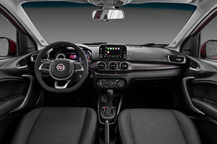 Fiat Linea'nın halefi Cronos'un iç mekan görüntüleri yayınlandı