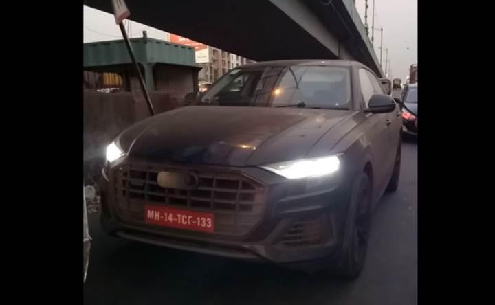 BMW X6'ya rakip geliyor: Audi Q8 test edilirken görüntülendi