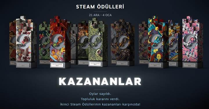 Steam ödülleri 2017 kazananları