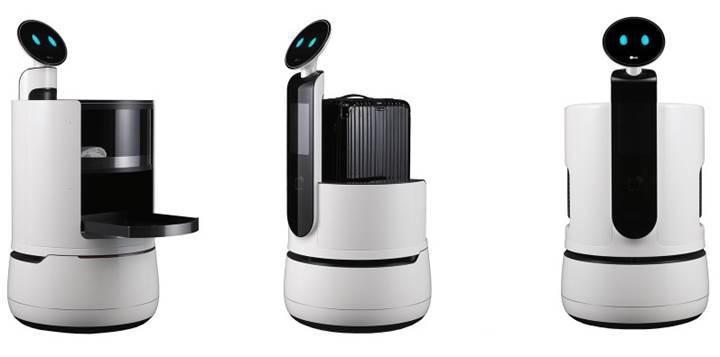 LG Electronics, CES 2018'de üç yeni konsept robot sergileyecek