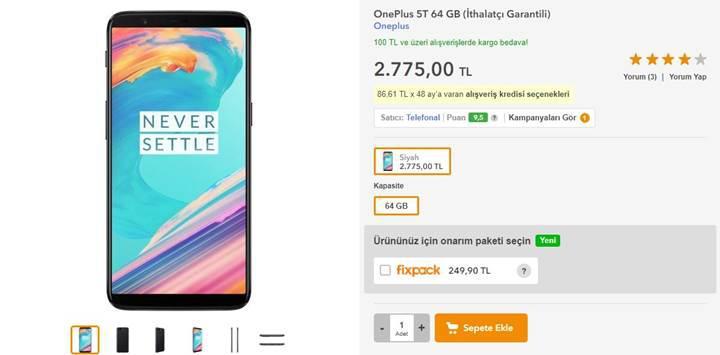 Merakla beklenen OnePlus 5T ülkemizde satışa sunuldu