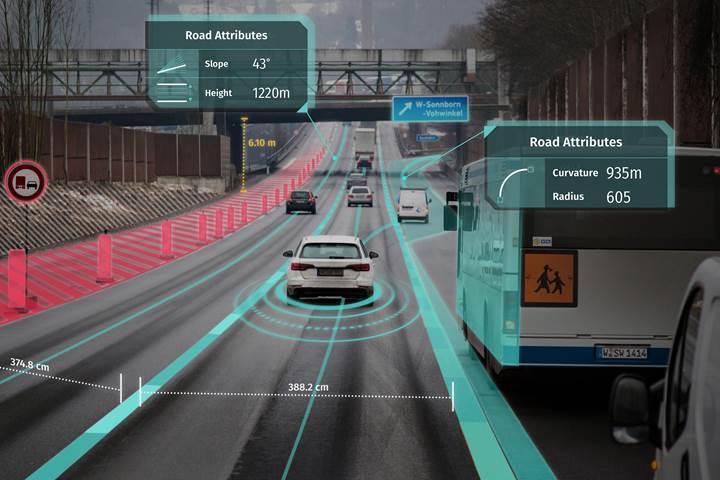 Continental ve Bosch, HD haritalar için Here'a ortak oldu