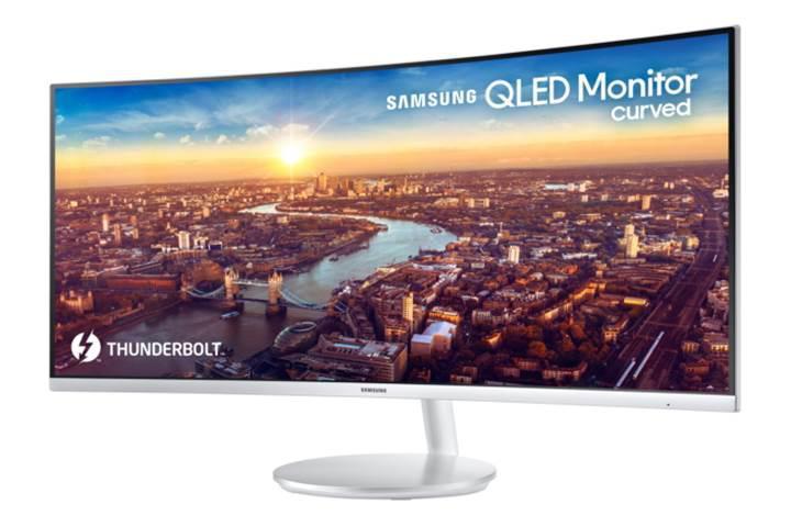 Samsung, Thunderbolt 3 destekli ilk QLED monitörü duyurdu