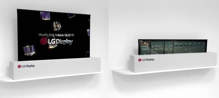 LG Display rulolanabilir OLED ekranını duyurdu