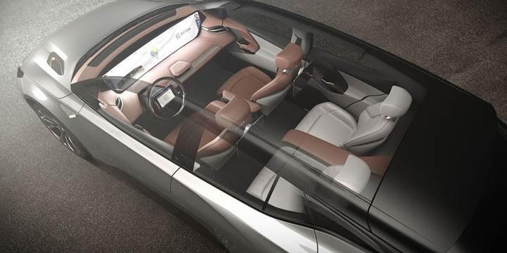 BYTON Concept tanıtıldı: 49 inç dokunmatik ekran, 523 km menzil ve otonom sürüş