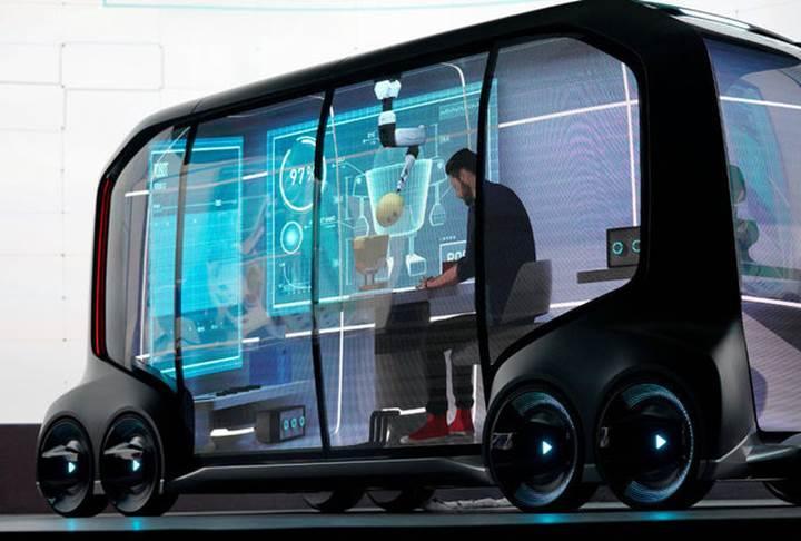 Toyota e-Palette: Tüm standartları alt üst edecek otonom elektrikli araç