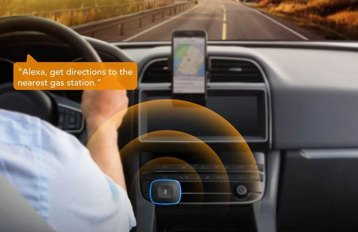 Anker'in Bluetooth şarj cihazı Alexa'yı otomobillere getiriyor