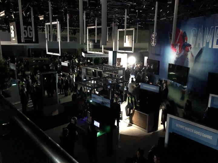 Dünyanın en büyük tüketici elektroniği fuarı CES 2018'de elektrikler kesildi