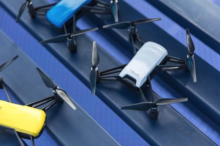 DJI ve Ryze ortaklığıyla Tello Drone modeli duyuruldu