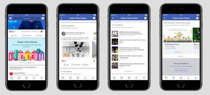 Facebook köklerine geri dönüyor