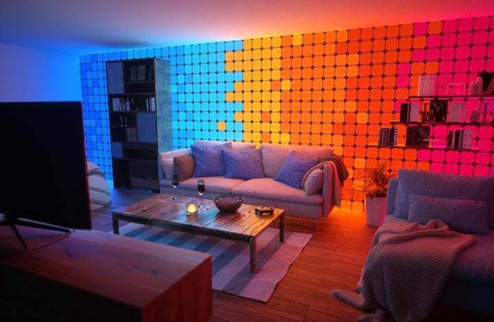 Duvarlarınızın rengini dokunarak değiştirin