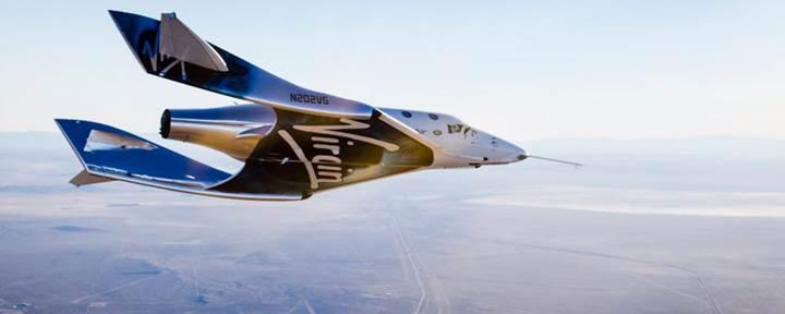 Virgin Galactic, uzay turizmini bu yıl içerisinde başlatmayı hedefliyor