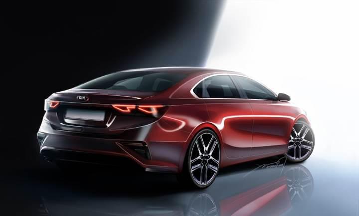 2018 Kia Cerato'nun tasarım görselleri yayınlandı