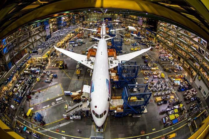 Yerli havacılık şirketi, Boeing ve Airbus'a 700 bin parça üretti