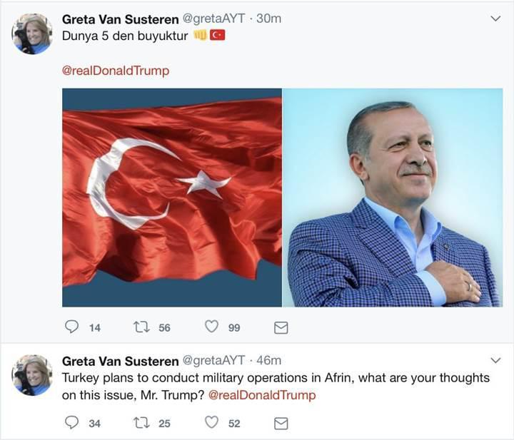 Ayyıldız Tim iş başında: Trump'ın takip ettiği iki Twitter hesabını hacklediler