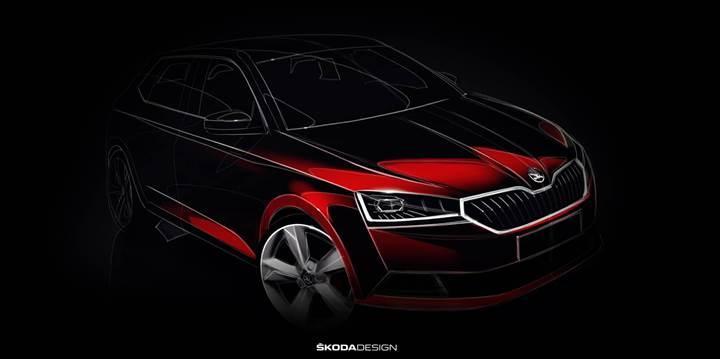 Yeni Skoda Fabia geliyor: Otomobilin ilk teaser görseli yayınlandı
