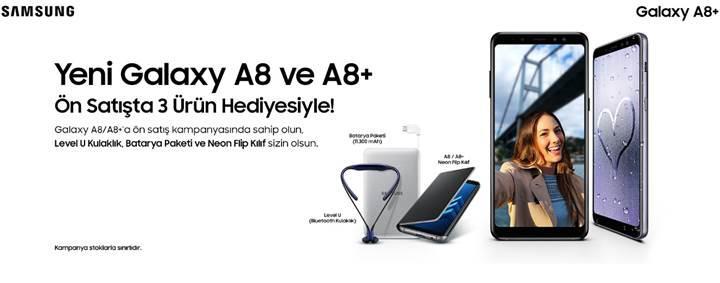 Samsung Galaxy A8 2018 fiyatı ve çıkış tarihi belli oldu