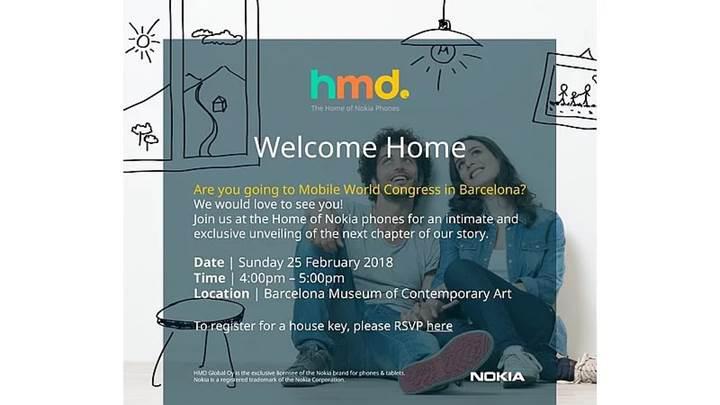 Yeni Nokia telefonlar 25 Şubat'ta düzenlenecek etkinlikte tanıtılacak