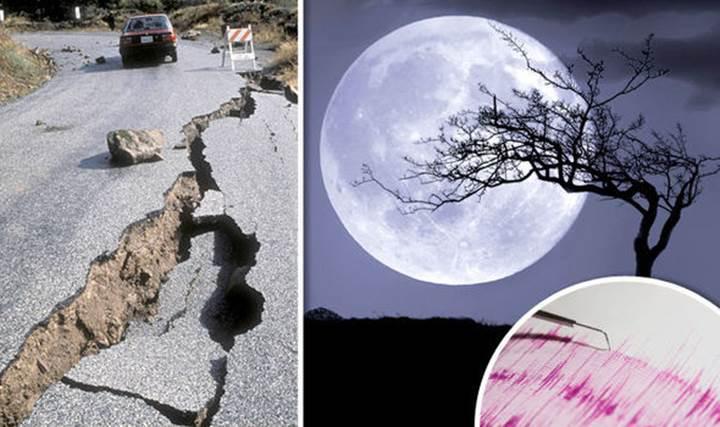 Araştırmacılar Ay ve depremler arasında bir ilişki bulunmadığını tespit etti