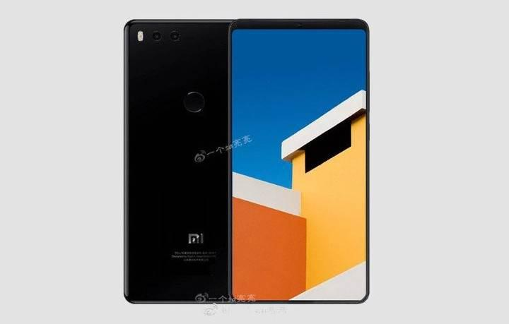 Mi MIX 2'den esintiler taşıyan Xiaomi Mi 7'nin görseli sızdırıldı