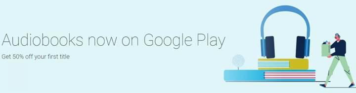 Sesli kitaplar Google Play mağazasına geliyor