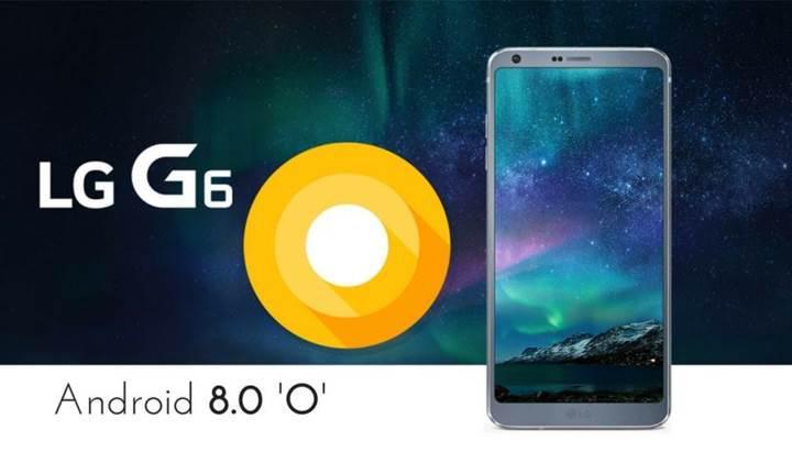 LG G6 için Android Oreo güncellemesi yaz aylarında