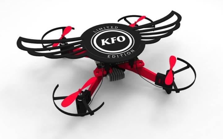 KFC'den ilginç promosyon: Drone'a dönüşebilen tavuk kanadı kutusu