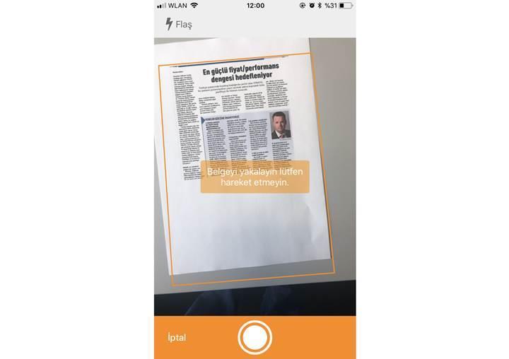 Bulut depolama ürünü HiDrive, şimdi akıllı telefonlar aracılığıyla belgeler için tarama işleviyle