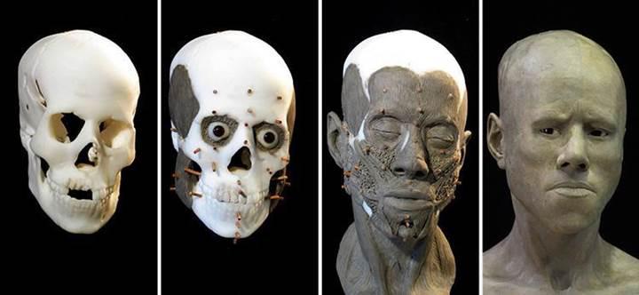 İşte 9000 yıl önce yaşamış genç kızın yeniden oluşturulan yüzü
