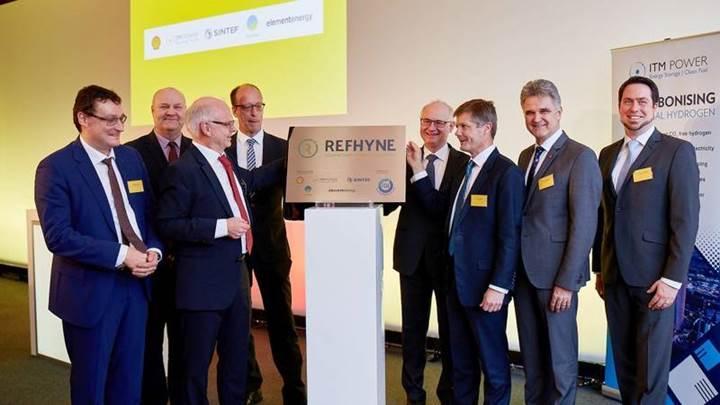 Dünyanın en büyük hidrojen elektroliz tesisi Almanya'da kurulacak