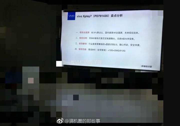 Vivo Xplay 7 modeli 10GB RAM ile gelebilir