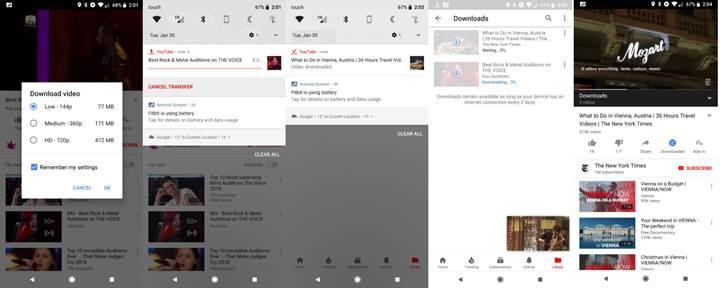 Youtube'un çevrimdışı video özelliği daha fazla ülkeye açılıyor